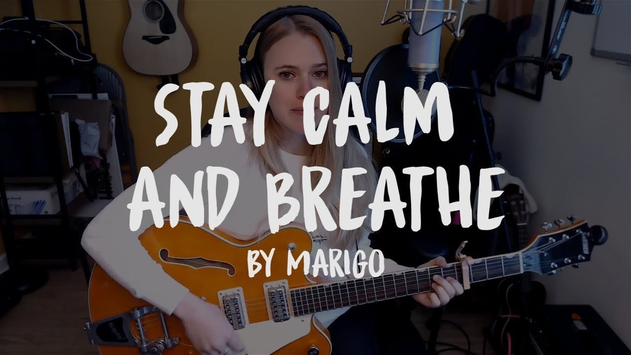 MariGo Stay Calm and Breathe