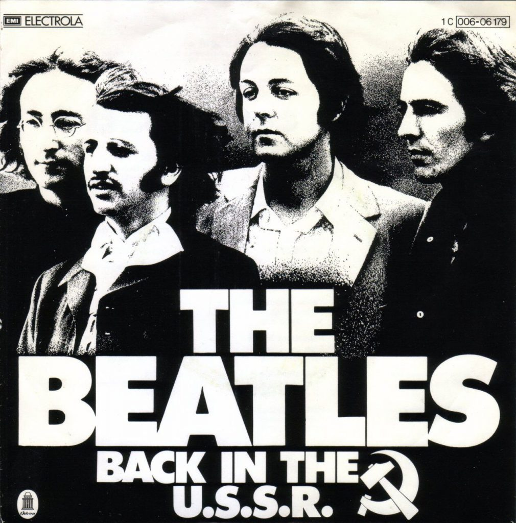 Back in the USSR cover