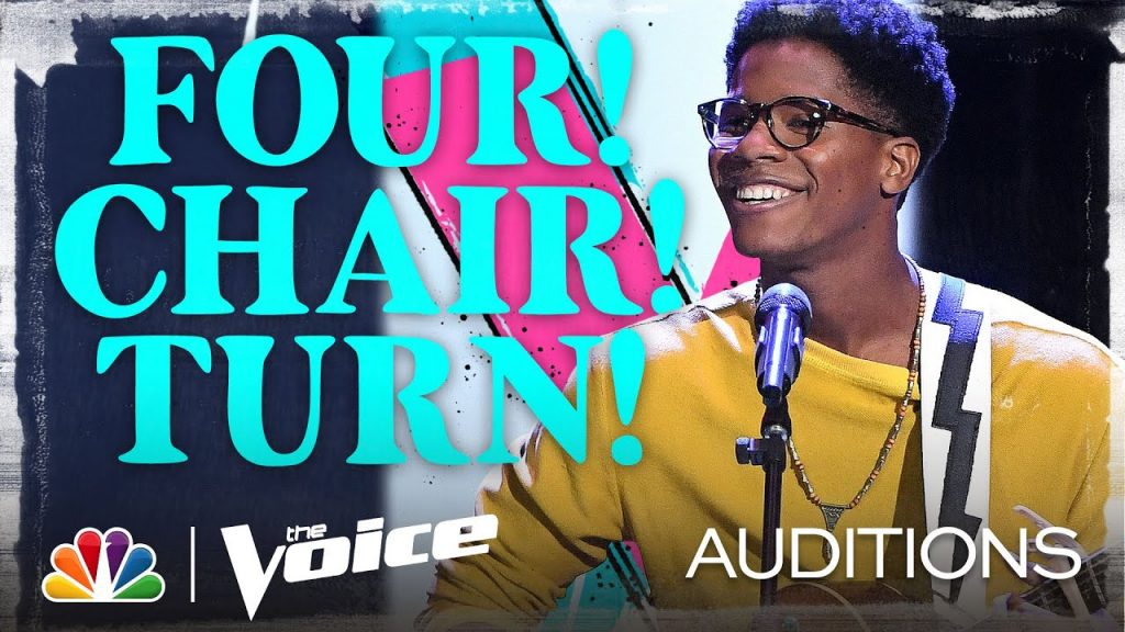 Thunderstorm Artis | The Voice Audition